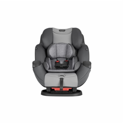 Evenflo Symphony All-in-One Car Seat - Black/Gray Perspective: front