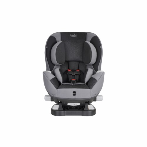 Evenflo Triumph LX Convertible Car Seat - Black/Gray Perspective: front