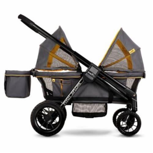 Evenflo 19132343 Pivot Xplore All Terrain Modular Toddler Stroller, Adventurer Perspective: front