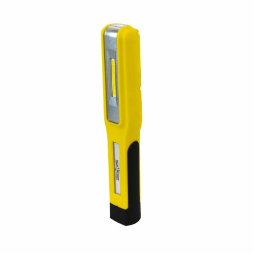 Southwire HL1040R 7.95 in. YJ Rechargeable Handheld Light, Yellow Perspective: front