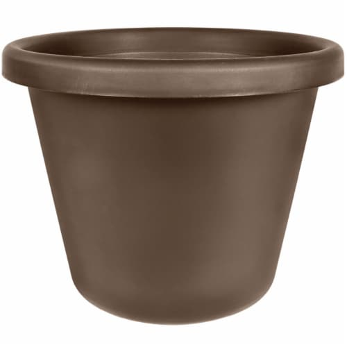 Akro-Mils Classic Pot - Chocolate Perspective: front