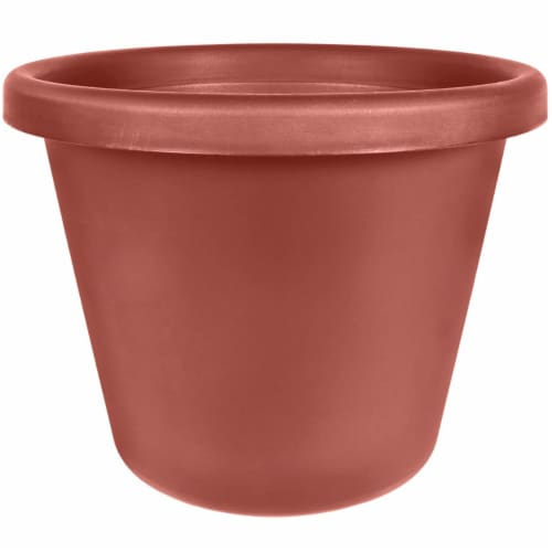 Akro-Mils Classic Pot - Clay Perspective: front