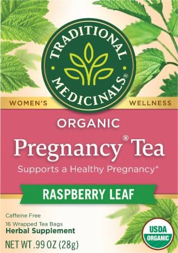 Traditional Medicinals Organic Pregnancy Tea Bags Perspective: front