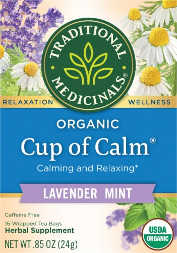 Traditional Medicinals Easy Now Tea Perspective: front