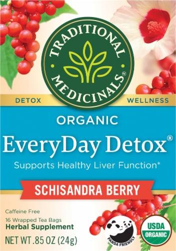 Traditionals Medicinals EveryDay Detox Tea Bags Perspective: front