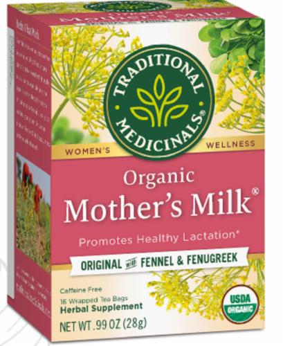 Tramed Tea Mothers Milk Tea Bags Perspective: front