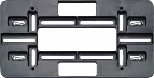 Cruiser Accessories Mounting Plate - Black Perspective: front