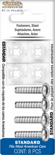 Cruiser Accessories Standard Steel Fasteners Perspective: front