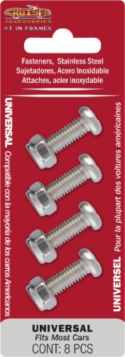 Cruiser Accessories Universal Stainless Steel Fasteners Perspective: front