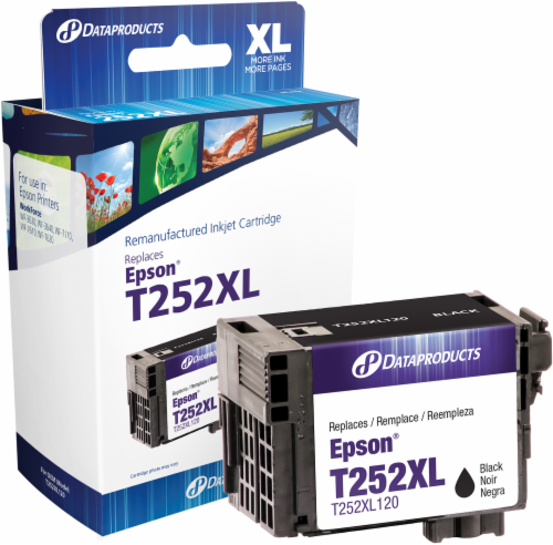 Dataproducts Remanufactured Ink Cartridge for Epson® T252XL Perspective: front