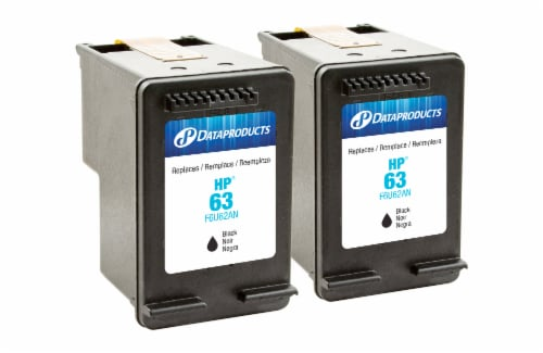 Dataproducts Remanufactured Inkjet Cartridges for HP 63 - Black Perspective: front