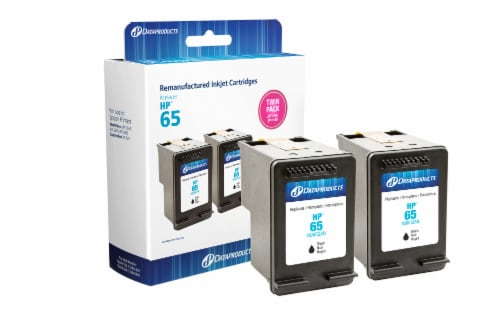 Dataproducts Remanufactured Inkjet Cartridges for HP 65 - Black Perspective: front