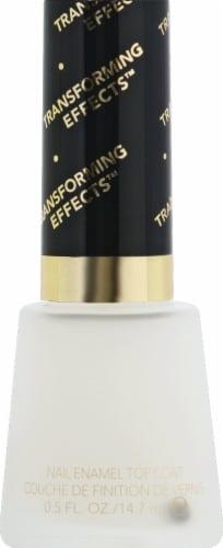 Revlon Matte Top Coat Nail Enamel Nail Polish Perspective: front