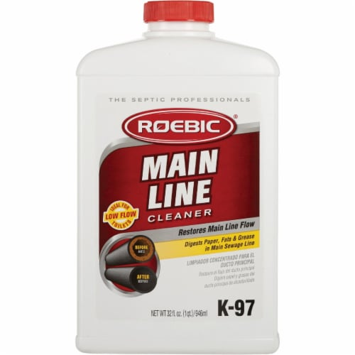 Roebic® Main Line Drain Cleaner Perspective: front