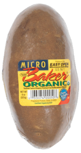 Microbaker Organic Baking Potato Perspective: front