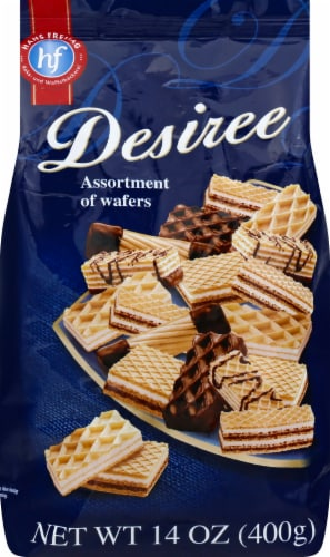 Hans Freitag Desiree Assortment of Wafers Perspective: front