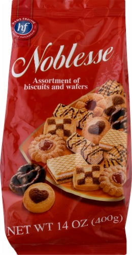 Hans Freitag Noblesse Assortment Of Biscuits & Wafers Perspective: front