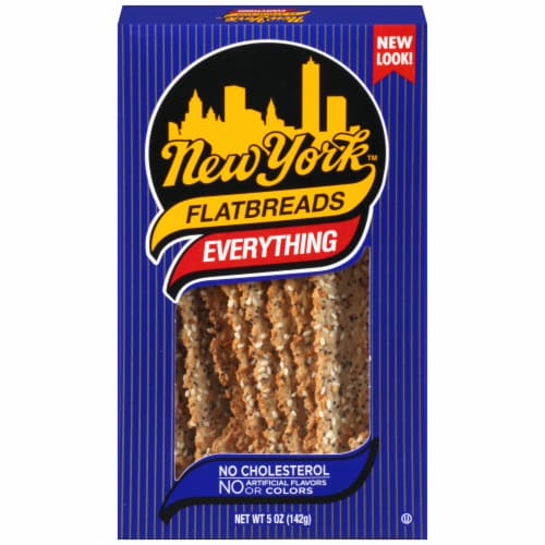 New York Everything Flatbreads Perspective: front