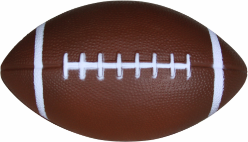 Hedstrom Athletic Foam Football - Brown Perspective: front