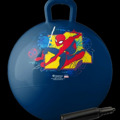 Hedstrom Entertainment 55-8842-1P 18 in. Spider-Man Hopper with Pump Perspective: front