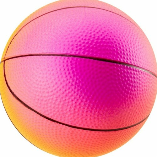 Hedstrom Inflatable Basketball - Rainbow Perspective: front