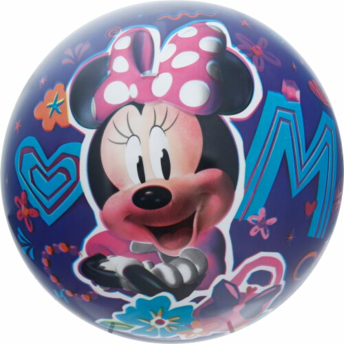 Ball Bounce and Sport Inc. Minnie Mouse Ball Perspective: front
