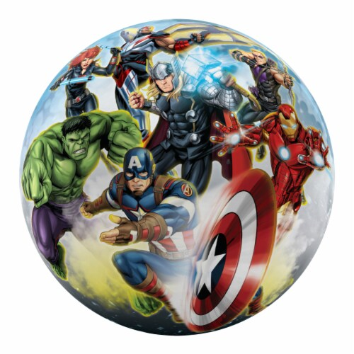 Ball Bounce and Sport Inc. Avengers Ball Perspective: front