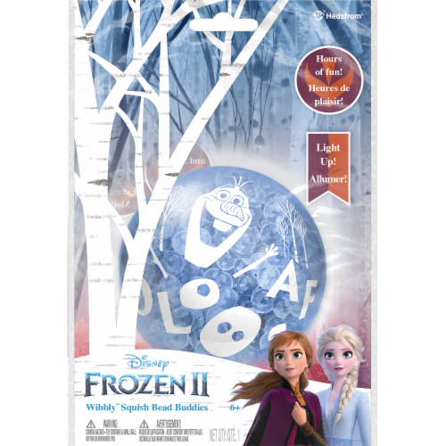 Ball Bounce and Sport Inc. Frozen 2 Wibbly Squish Bead Buddies Perspective: front