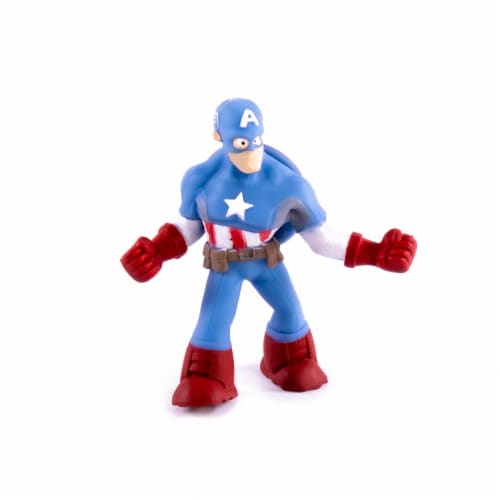 Hedstrom Avengers Captain America Toy Perspective: front