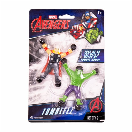 Hedstrom Avengers Hulk & Thor Toy Pair Perspective: front