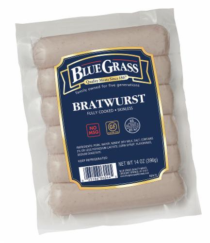 Blue Grass Bratwurst Perspective: front
