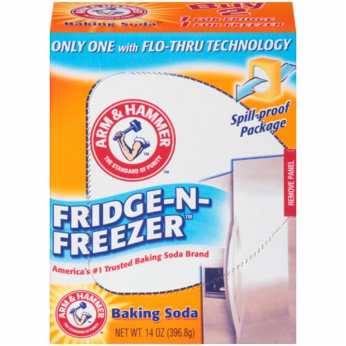 Arm & Hammer Fridge-N-Freezer Baking Soda Perspective: front
