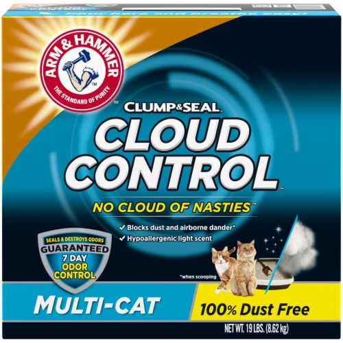 Arm & Hammer Cloud Control Multi-Cat Litter Perspective: front