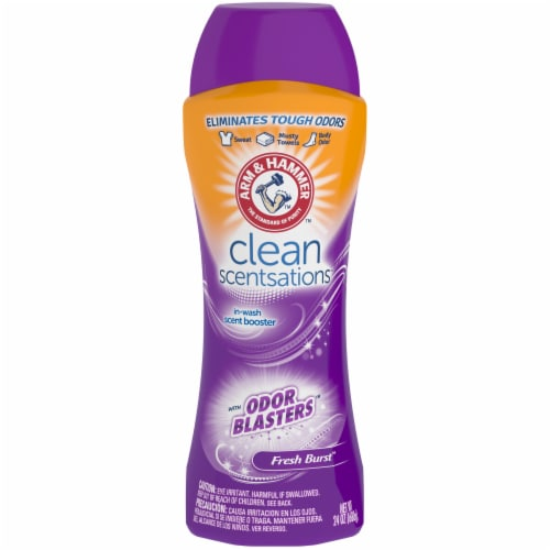 Arm & Hammer Clean Scentsations Fresh Burst In-Wash Scent Booster Perspective: front