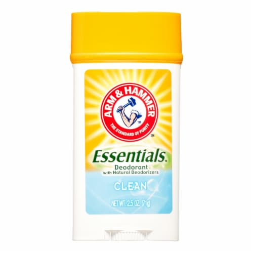 Arm & Hammer Essentials Clean Deodorant Perspective: front
