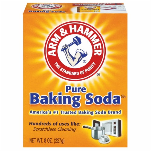 Arm & Hammer Pure Baking Soda Perspective: front