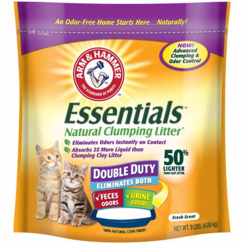 Arm & Hammer Naturals Clumping Litter with Corn Fibers Perspective: front