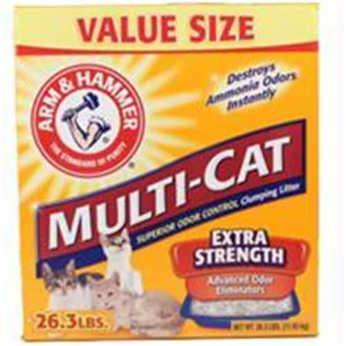 Arm & Hammer Multi-Cat Clumping Litter Perspective: front