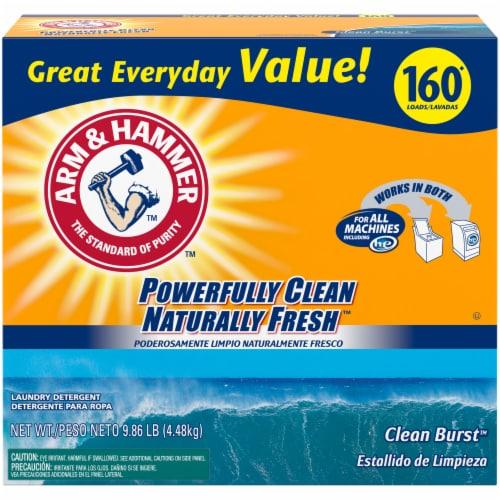 Arm & Hammer Clean Burst Laundry Detergent Perspective: front