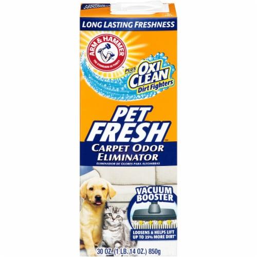 Arm & Hammer Pet Fresh Carpet Odor Eliminator Perspective: front