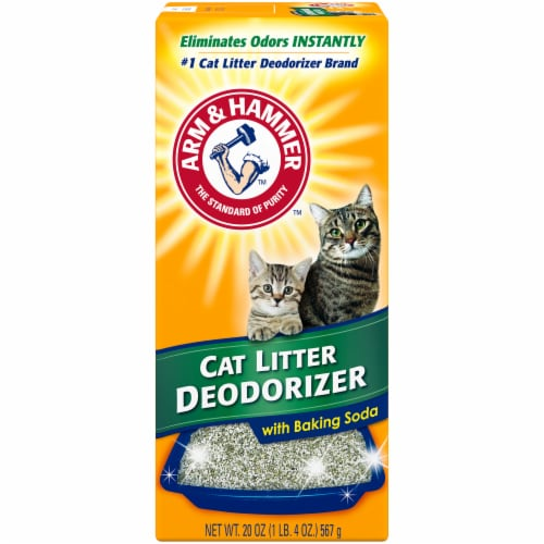 Arm & Hammer Cat Litter Deodorizer Powder with Baking Soda Perspective: front