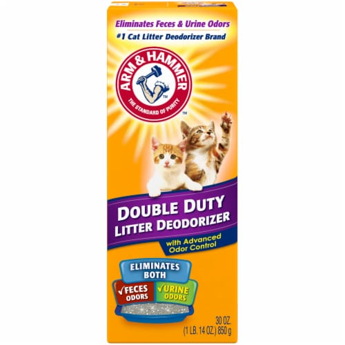 Arm & Hammer Double Duty Cat Litter Deodorizer with Advanced Odor Control Perspective: front