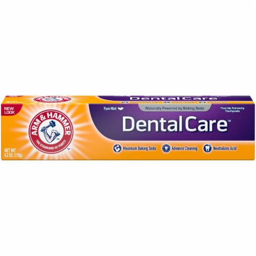 Arm & Hammer DentalCare Pure Mint Toothpaste Perspective: front