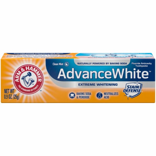 Arm & Hammer Advance White Clean Mint Toothpaste Perspective: front