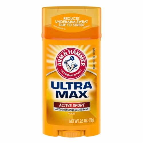 Arm & Hammer Ultramax Active Sport Solid Antiperspirant and Deodorant Perspective: front