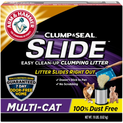 Arm & Hammer Slide Multi-Cat Clumping Litter Perspective: front