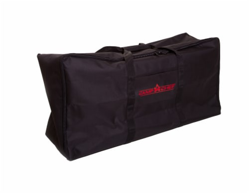 Camp Chef Two Burner Stove Carry Bag - Black Perspective: front