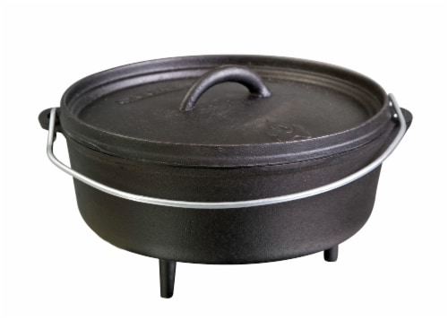 Camp Chef Iron Classic Standard Dutch Oven Perspective: front