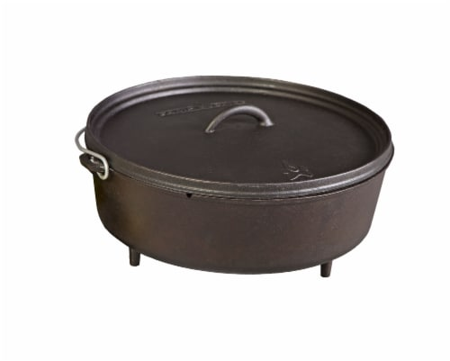 Camp Chef Iron Cast Classic Standard Dutch Oven Perspective: front