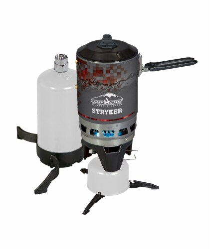 Camp Chef MS200 Multi Fuel Stryker Stove Perspective: front